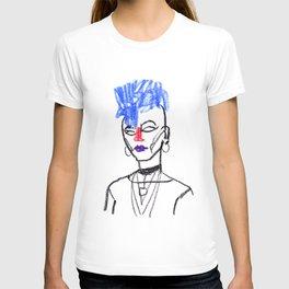 Mohawk girl T-shirt