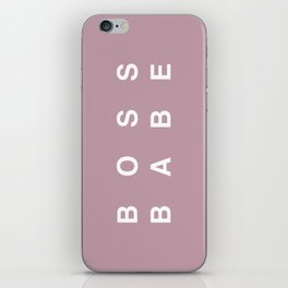 Boss Babe iPhone Skin
