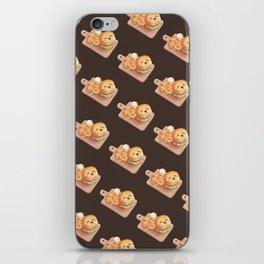 SmileDog Burger iPhone Skin