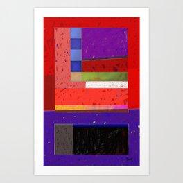Downe Burns - Tripping On Life 7 Art Print