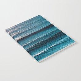 Blue Summer - Ocean Beach Landscape Notebook