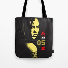 Fashion Dark Woman Tote Bag