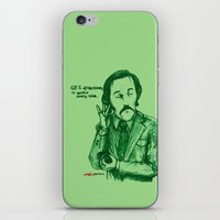 anchorman iPhone & iPod Skins featuring Anchorman: 60% of the Time by Red Misery