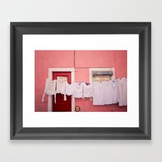 number 75 Framed Art Print