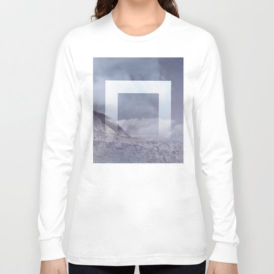 The Portal between the Mountains Long Sleeve T-shirt