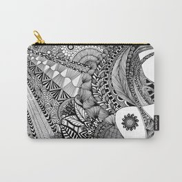 Sunny Girl with Tattoo Carry-All Pouch