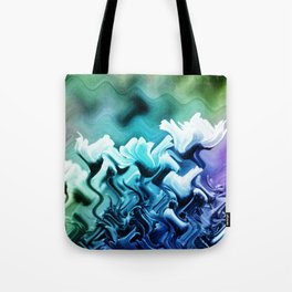 abstract Flower field Tote Bag