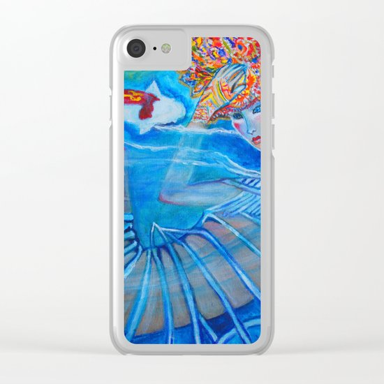 With Every Breath Clear iPhone Case