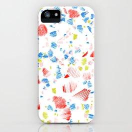 Terrazzo Glow iPhone Case