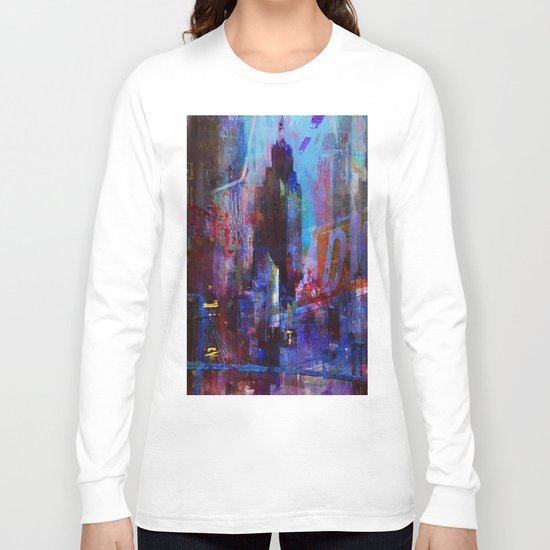 slice of the city Long Sleeve T-shirt