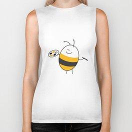 Bee the Painter Biker Tank