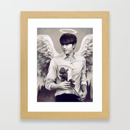 Angel Hyun Framed Art Print