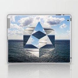 Sacred geometry Seaview Laptop & iPad Skin