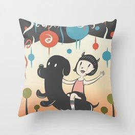 Hurricane! Throw Pillow