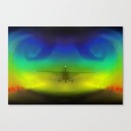 Wing-tip Vortices Canvas Print