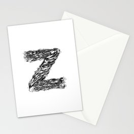 The Illustrated Z Stationery Cards