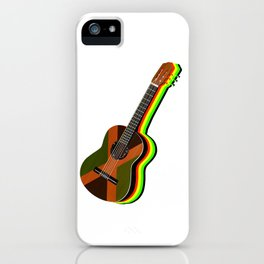 Reggae Guitar iPhone Case