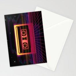 Sunset Cassette Stationery Cards