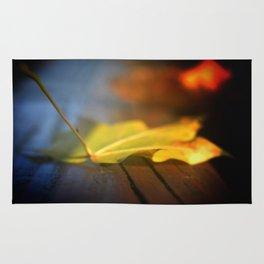 the fallen leaf Rug