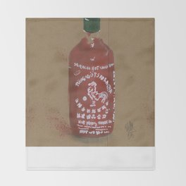 Sriracha Sauce - These are the things I use to define myself Throw Blanket