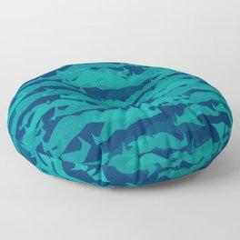 Movember Crowd Floor Pillow