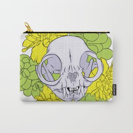 Persian Kitty Skull Carry-All Pouch