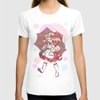 puppycat T-shirts featuring Bubbles!  by Jack Husky