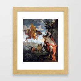 Perseus and Andromeda Framed Art Print