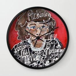 Maxine Waters Wall Clock