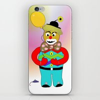 clown iPhone & iPod Skins featuring Clown by LoRo  Art & Pictures