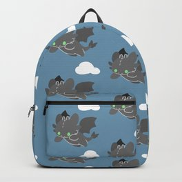 toothless pattern Backpack