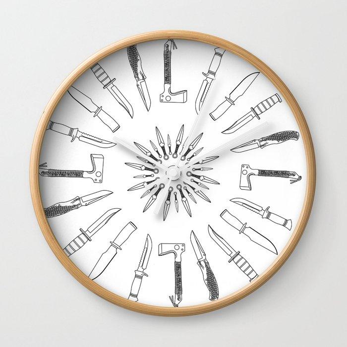 Sharp Edge Wall Clock