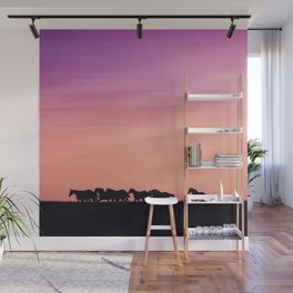 Sunset Sprint Wall Mural
