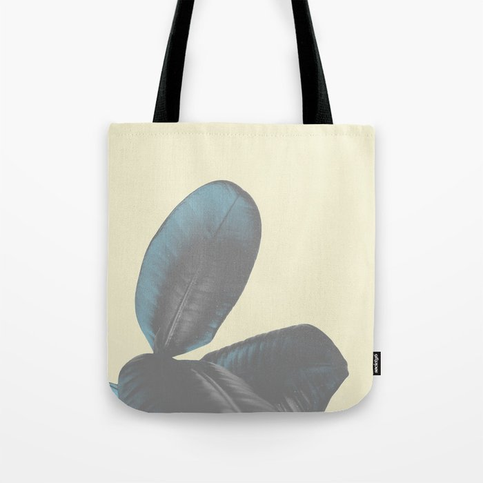 Ficus Elastica #5 #pastel #yellow #art #society6 Tote Bag