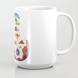 Overworld: Beach Coffee Mug