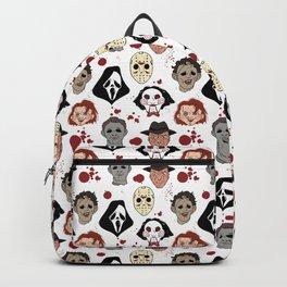 Horror Villains Pattern Backpack