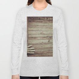 Knock on Wood Long Sleeve T-shirt