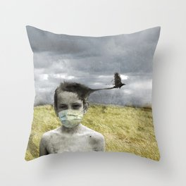 Psychosolstice Throw Pillow