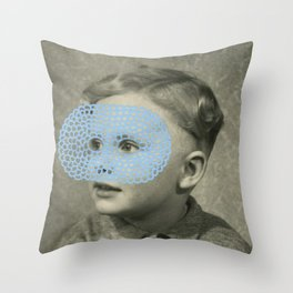 David Byrne Throw Pillow