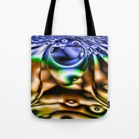 lsd Tote Bags featuring LSD by Robin Curtiss