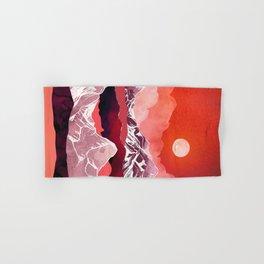 Scarlet Glow Hand & Bath Towel
