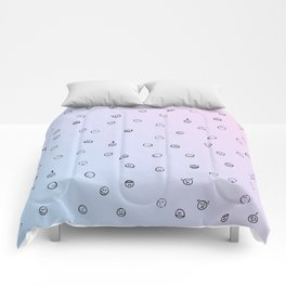 smiley spring Comforters
