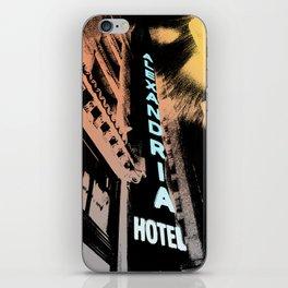 Alexandria Hotel iPhone Skin
