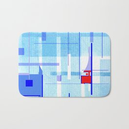 A Tribute to Brazilian Neoconcretists Bath Mat