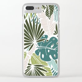 Veil of palm Clear iPhone Case