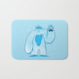 A is for: Abominable! Bath Mat