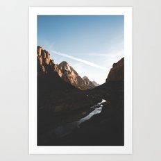 Zion 2. Art Print