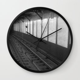 NY Subway Wall Clock