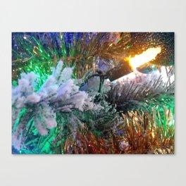 Colorful Christmas Canvas Print
