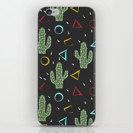 Cacti. Abstract modern pattern 3 iPhone Skin